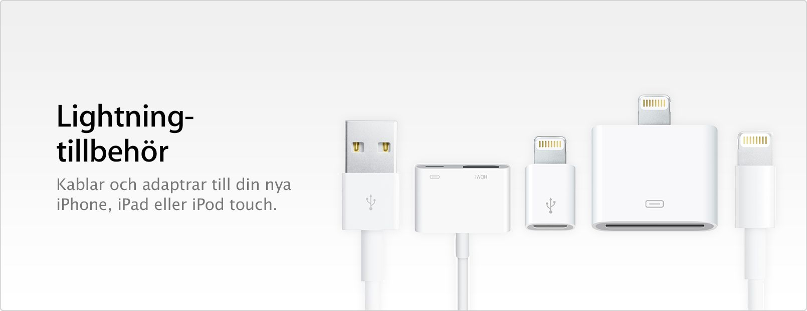 iPhone lightning laddare | Lightning (Iphone, Ipad) |