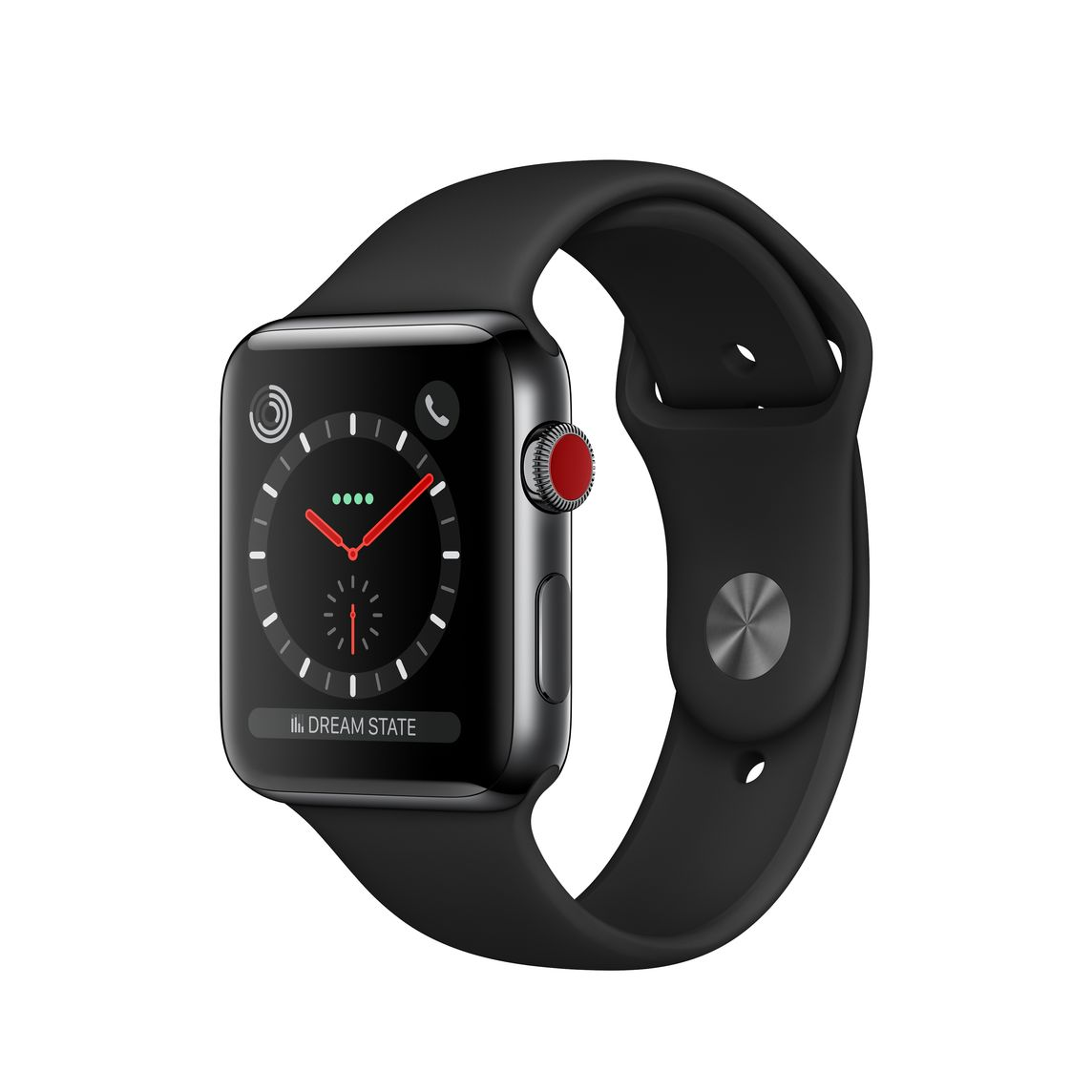 42mm Space Black Stainless Steel Case