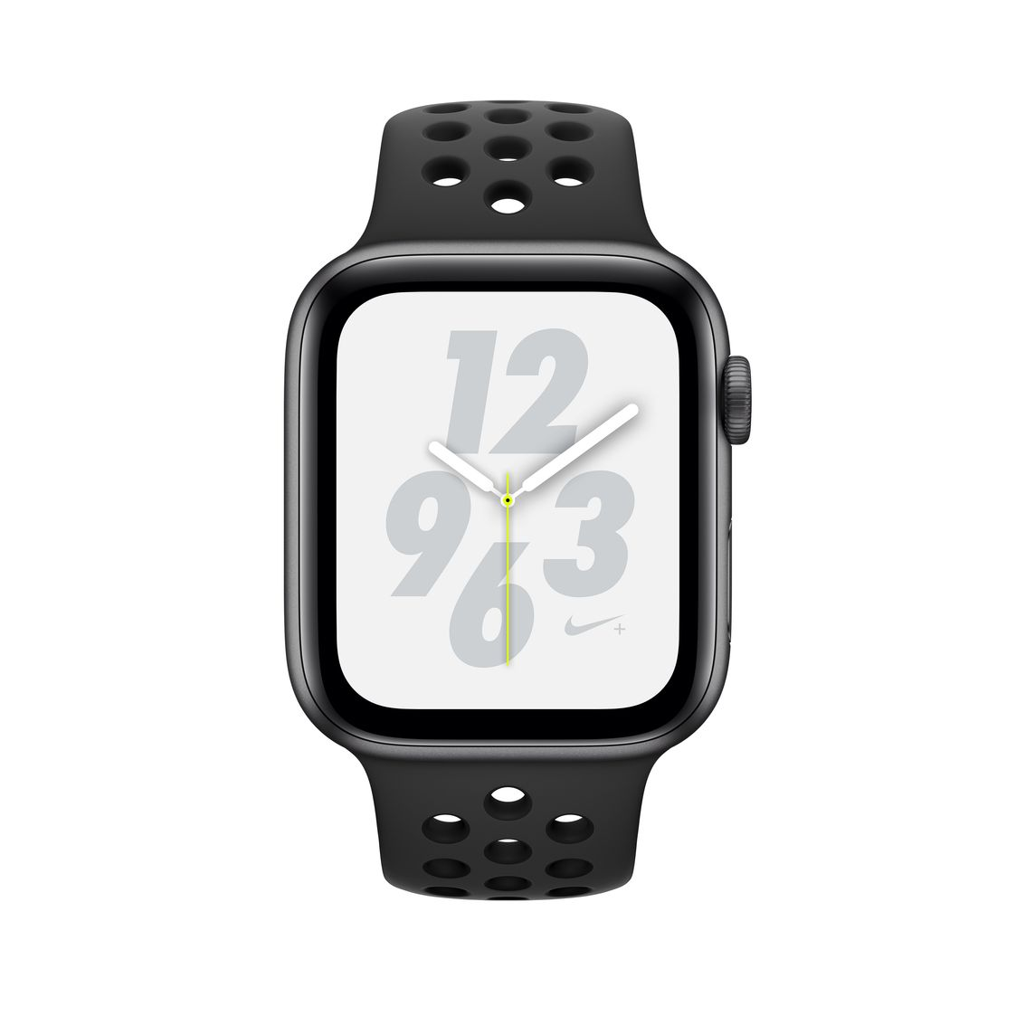 Refurbished Apple Watch Nike+ Series 4 GPS + Cellular, 40mm Space Grey Aluminium Case with AnthraciteBlack Nike Sport Band