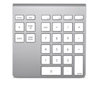 Belkin Wireless YourType Numeric Keypad for iMac and MacBook