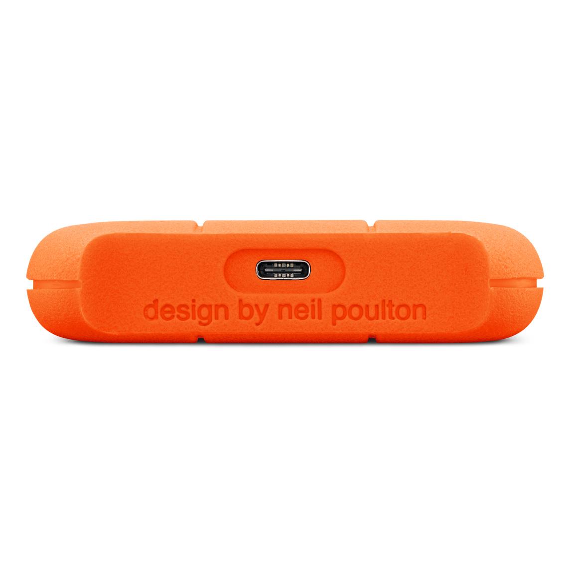 Lacie 1tb Rugged Usb C 3 0 Portable Hard Drive