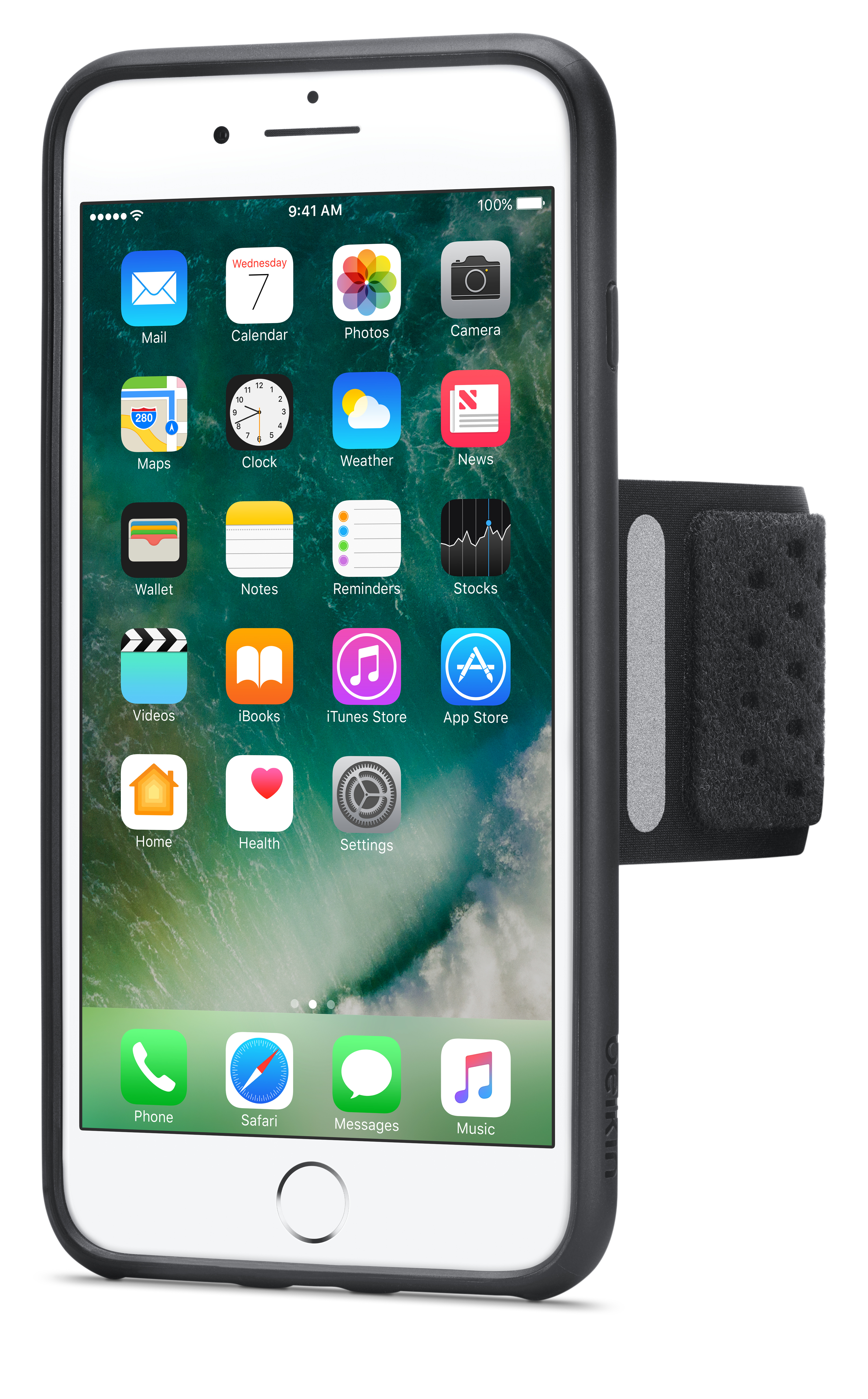 finest selection 34322 c8117 Belkin Fitness Armband for iPhone 8 Plus/7 Plus
