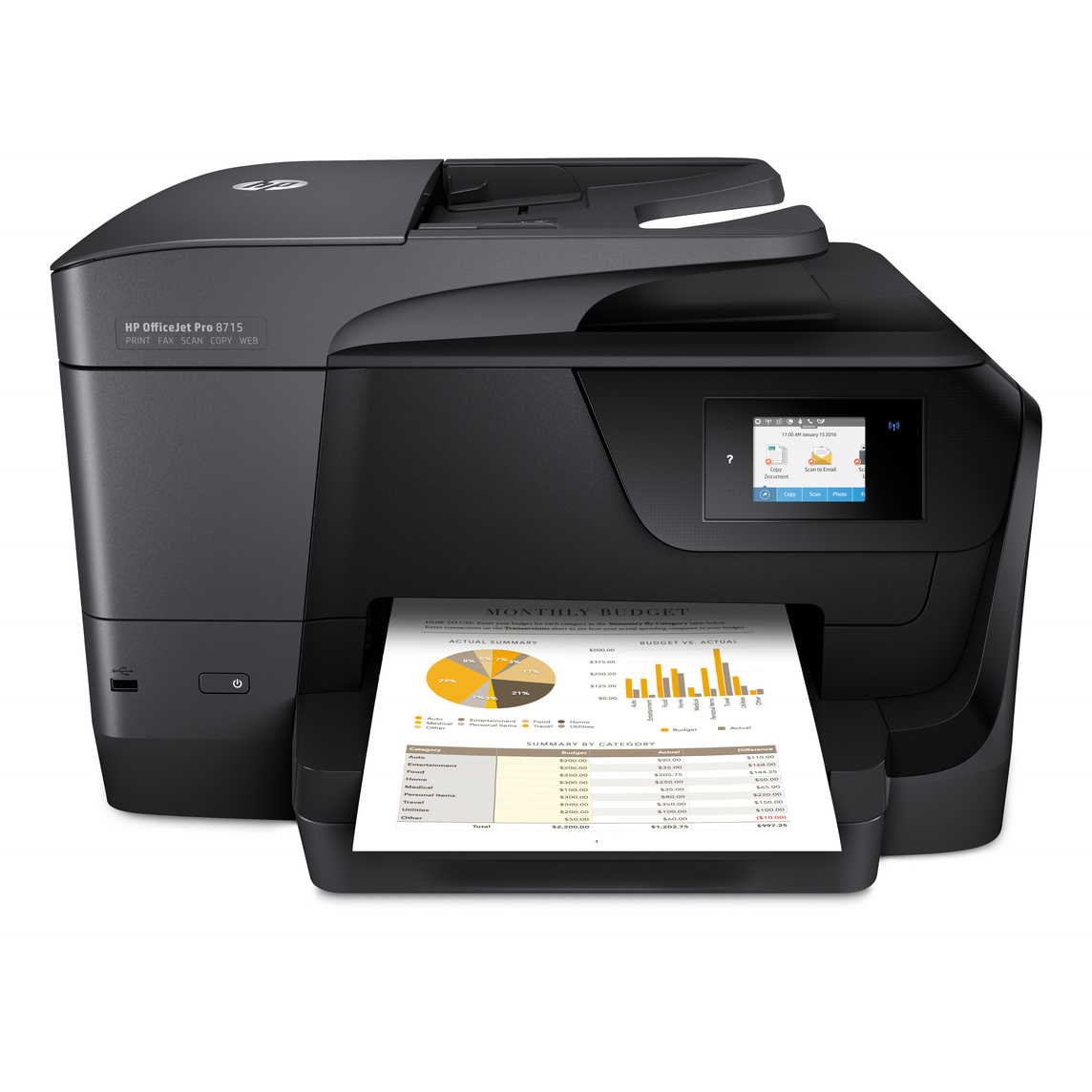 HP OfficeJet Pro 8715 e-All-in-One Printer