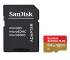 SanDisk 64GB MicroSD Extreme Plus Card