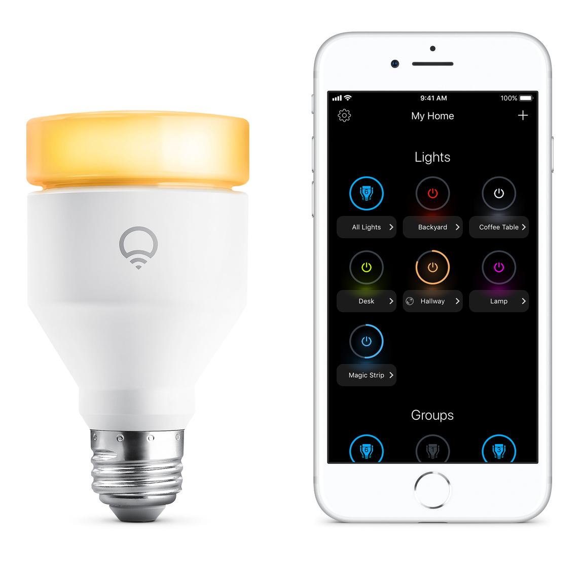 LIFX Multicolor 1100 Lumen Wi Fi Smart LED Lampe A60 E27