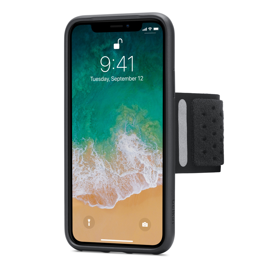 newest 13fd5 1ef72 Belkin Fitness Armband for iPhone X