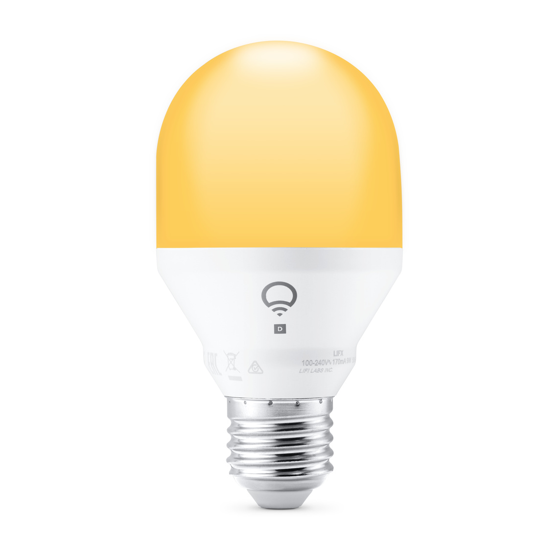 Lifx Dayamp; To Ampoule Duskwhite Amber Connectée E27 Led Fi Wi SpectrumA60 Mini 8wnPNO0kX
