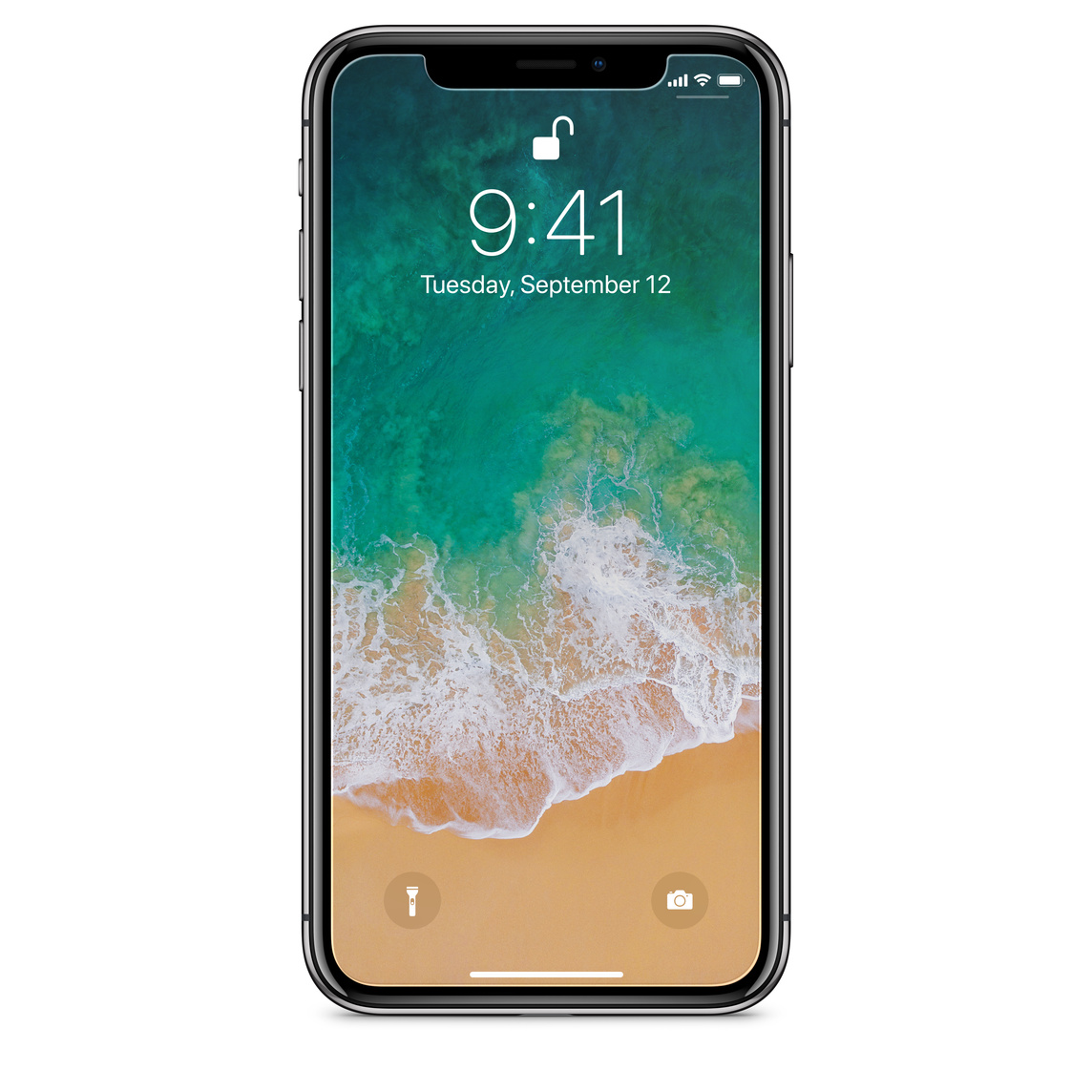 low priced fc319 f90f9 Tech21 Impact Shield Anti-Glare with Precise-Align Applicator for iPhone X