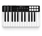 Clavier maître MIDI avec interface audio iRig Keys I/O 25 d'IK Multimedia