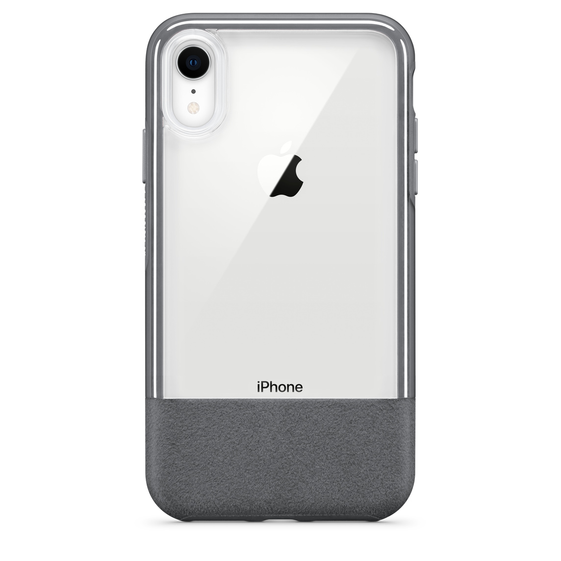 coque iphone xr gris