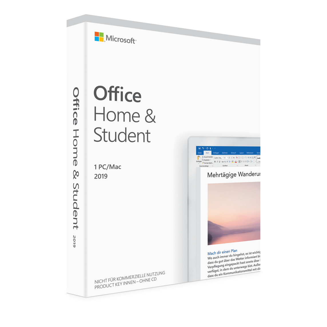 Kendte Microsoft Office Home and Student 2019 (1 Mac) - Apple (DE) HX-15