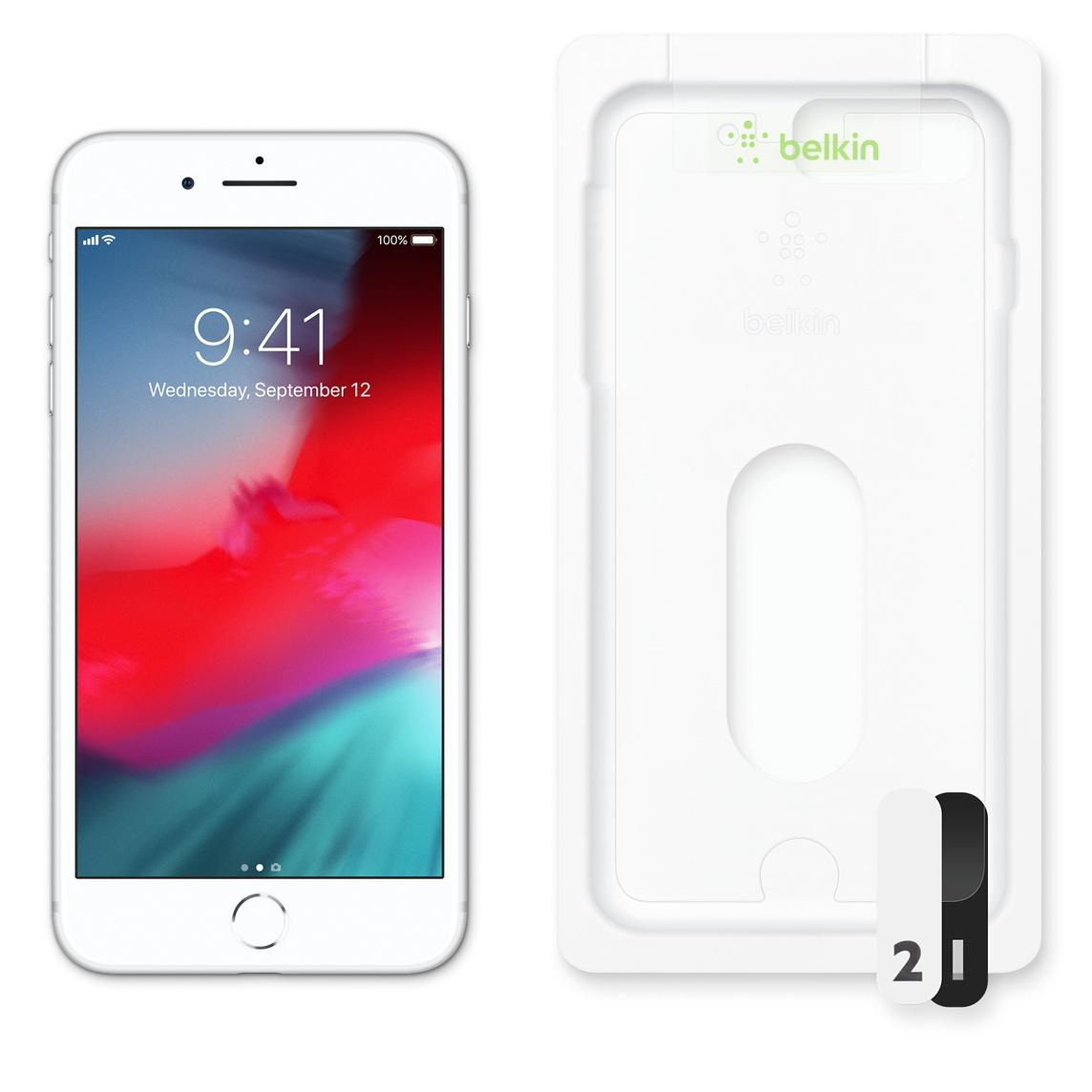 Protège écran InvisiGlass Ultra de Belkin pour iPhone 8 Plus et 7 Plus