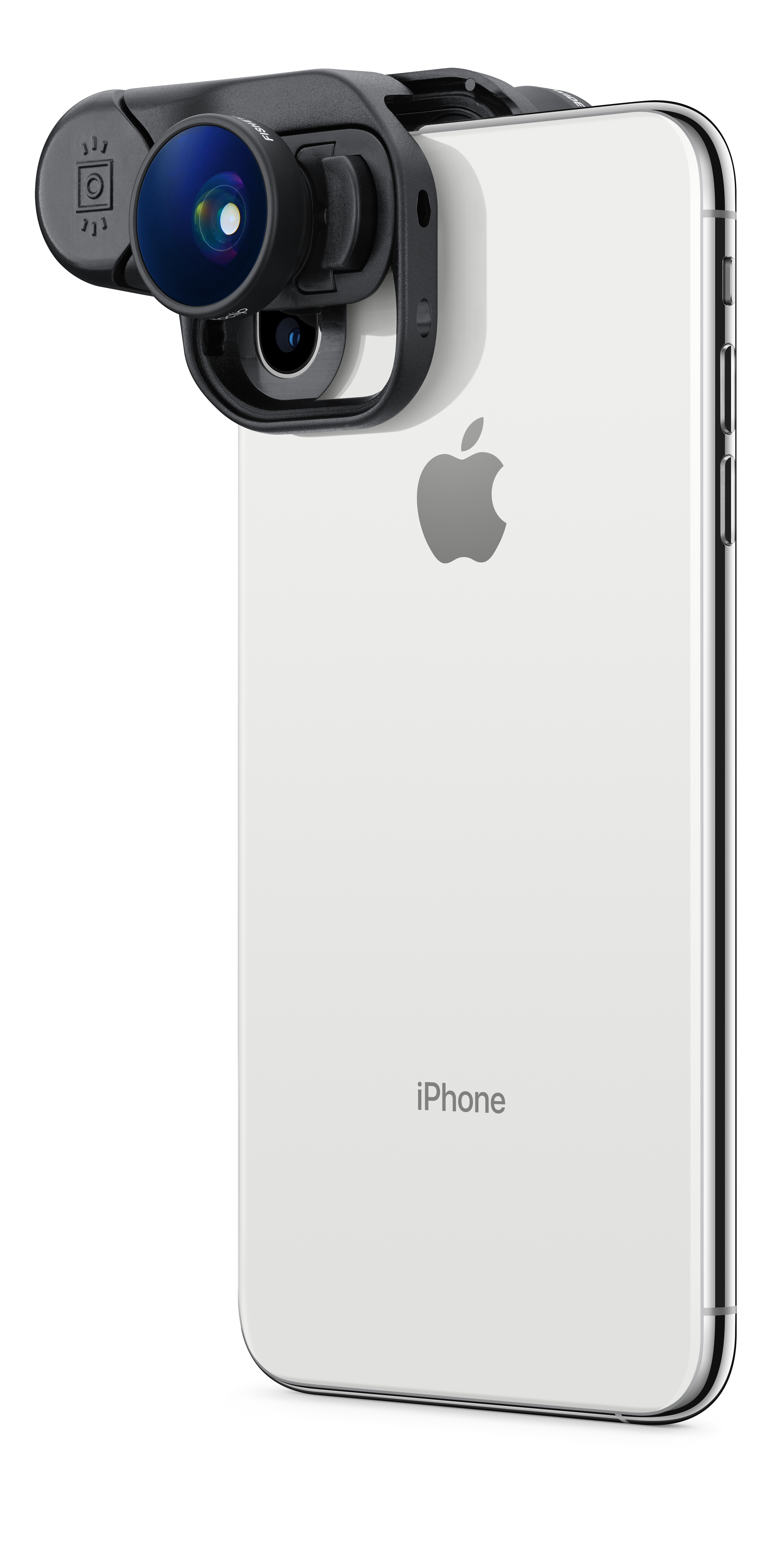 innovative design ba5e0 96fec olloclip Fisheye + Super-Wide + Macro Essential Lenses for iPhone XS Max