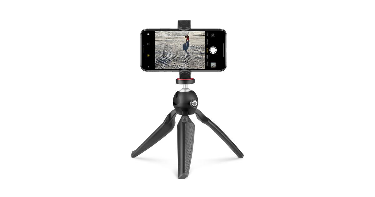 HandyPod de JOBY avec pince pour iPhone et adaptateur