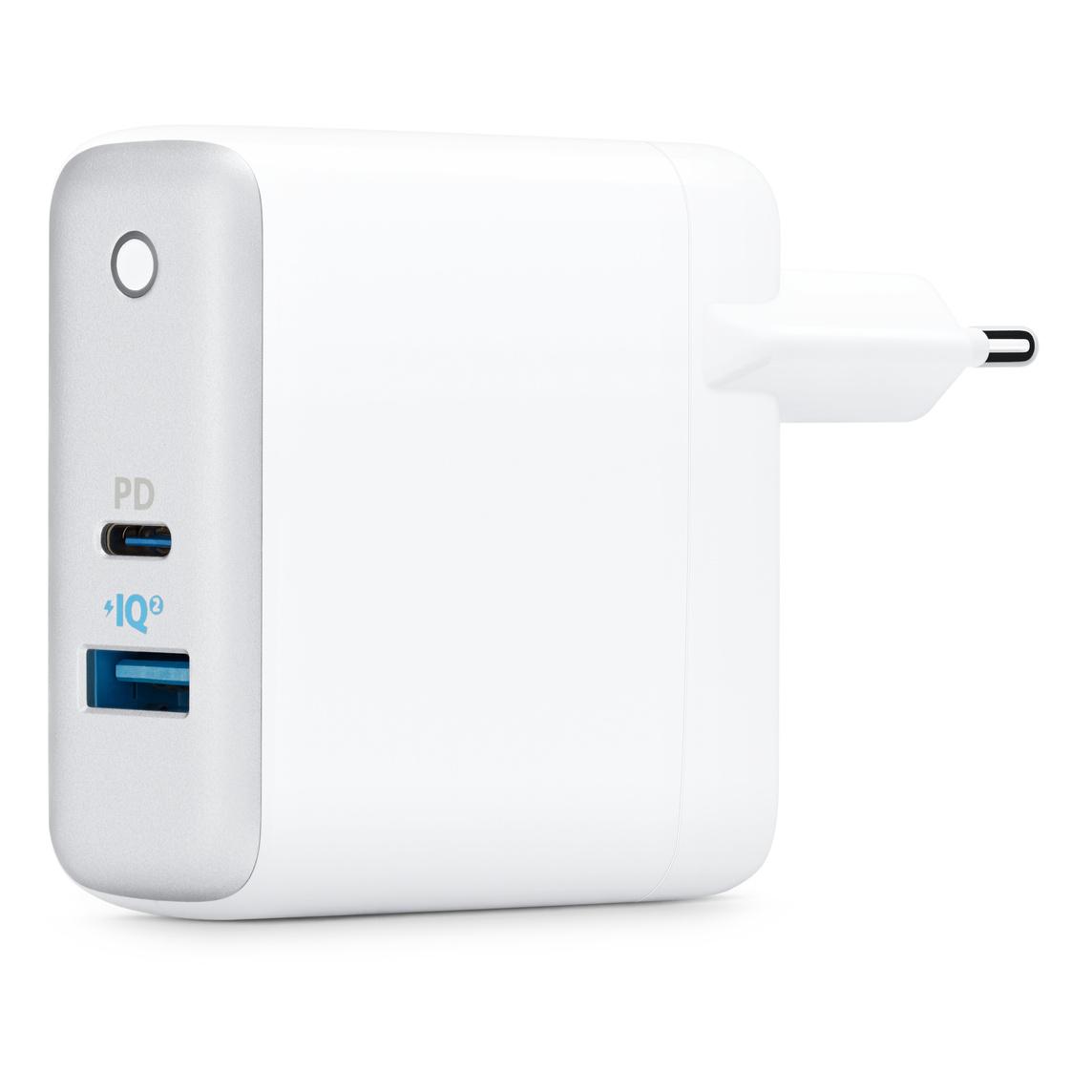 Anker PowerPort II PD usb väggladdare med 2 portar och usb c kabel ???vit
