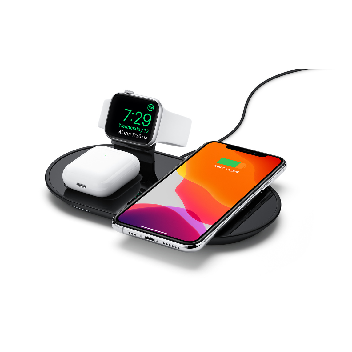 new arrival 7dfaa 15a77 mophie 3-in-1 wireless charging pad