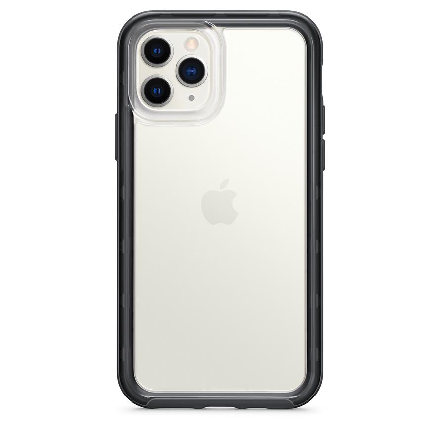 Custodia a portafoglio in pelle di Decoded per iPhone 11 - Marrone