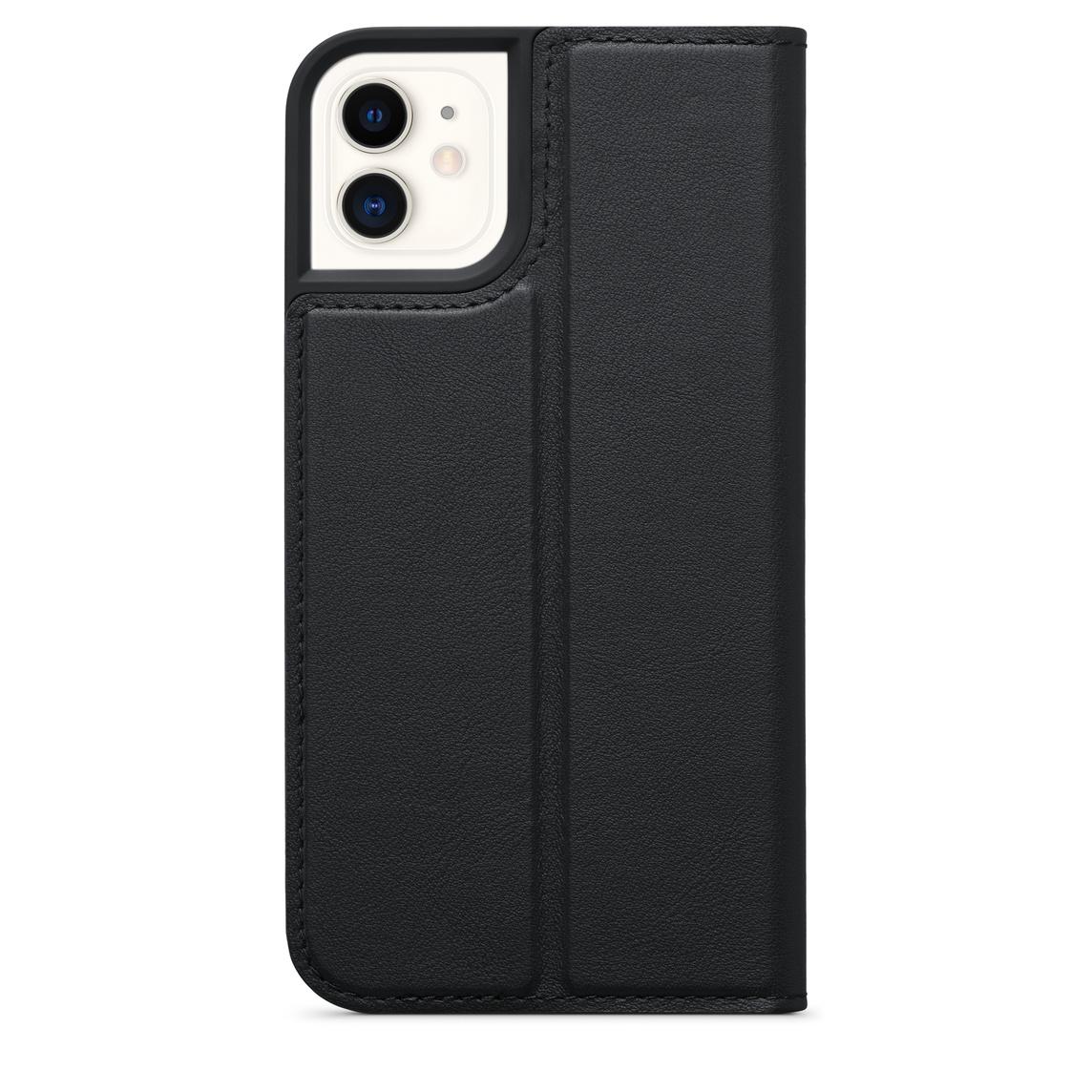 Custodia a portafoglio in pelle di Decoded per iPhone 11