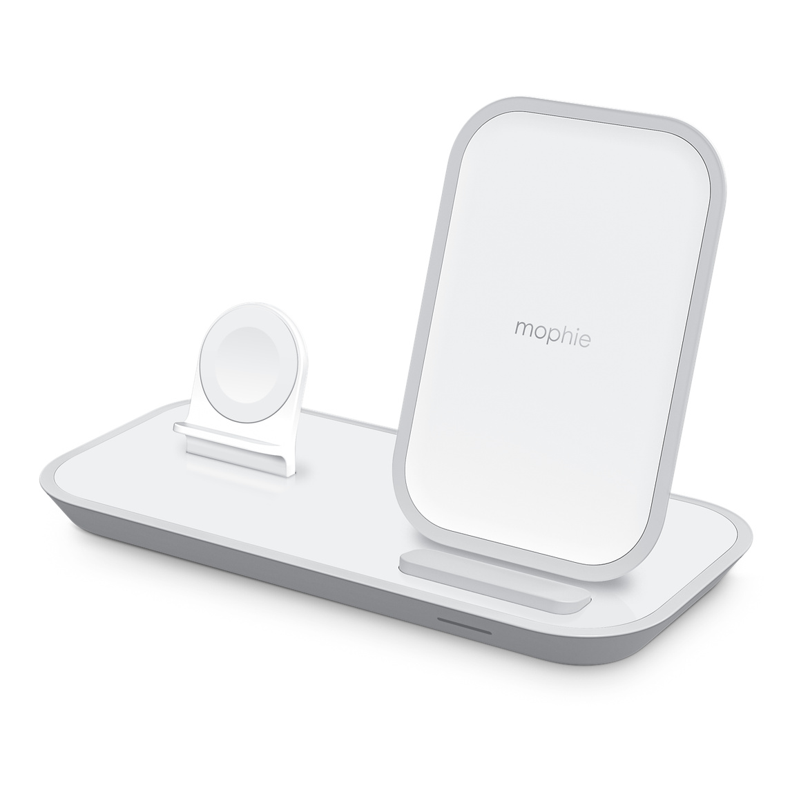 Mophie 2 In 1 Wireless Charging Stand White Apple Uk This wireless mophie smartphone charger is sleek and powerful. mophie 2 in 1 wireless charging stand
