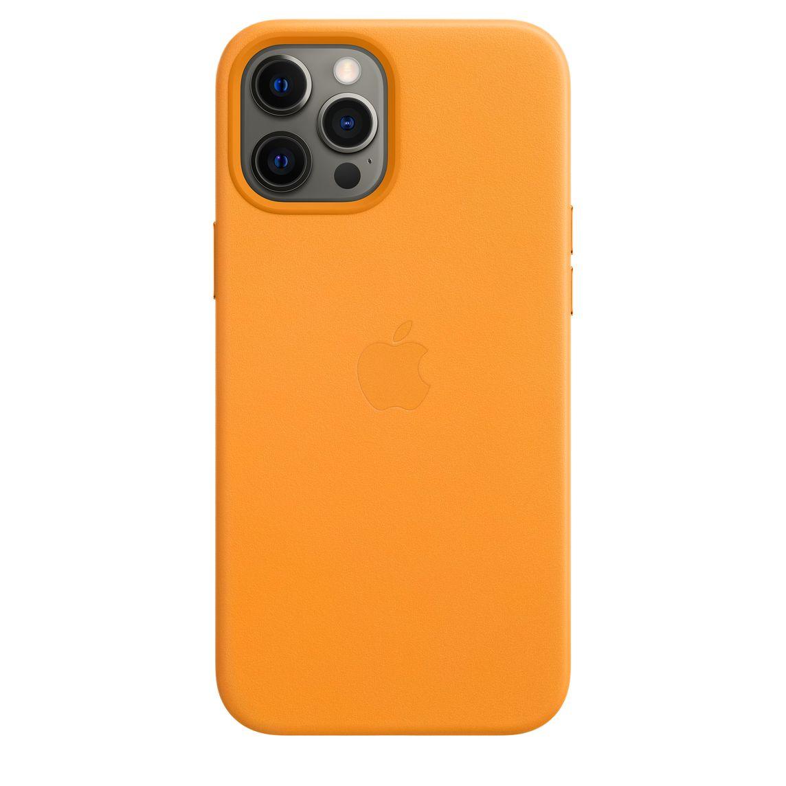 Custodia MagSafe in pelle per iPhone 12 Pro Max - Sole di California