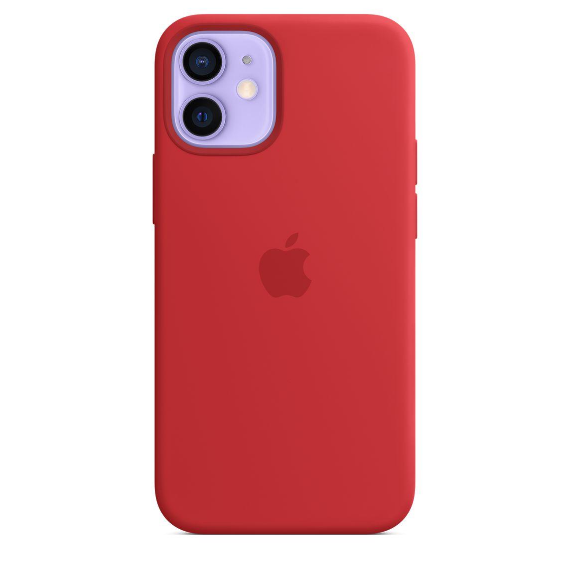 Custodia MagSafe in silicone per iPhone 12 mini - Rosso (PRODUCT)RED