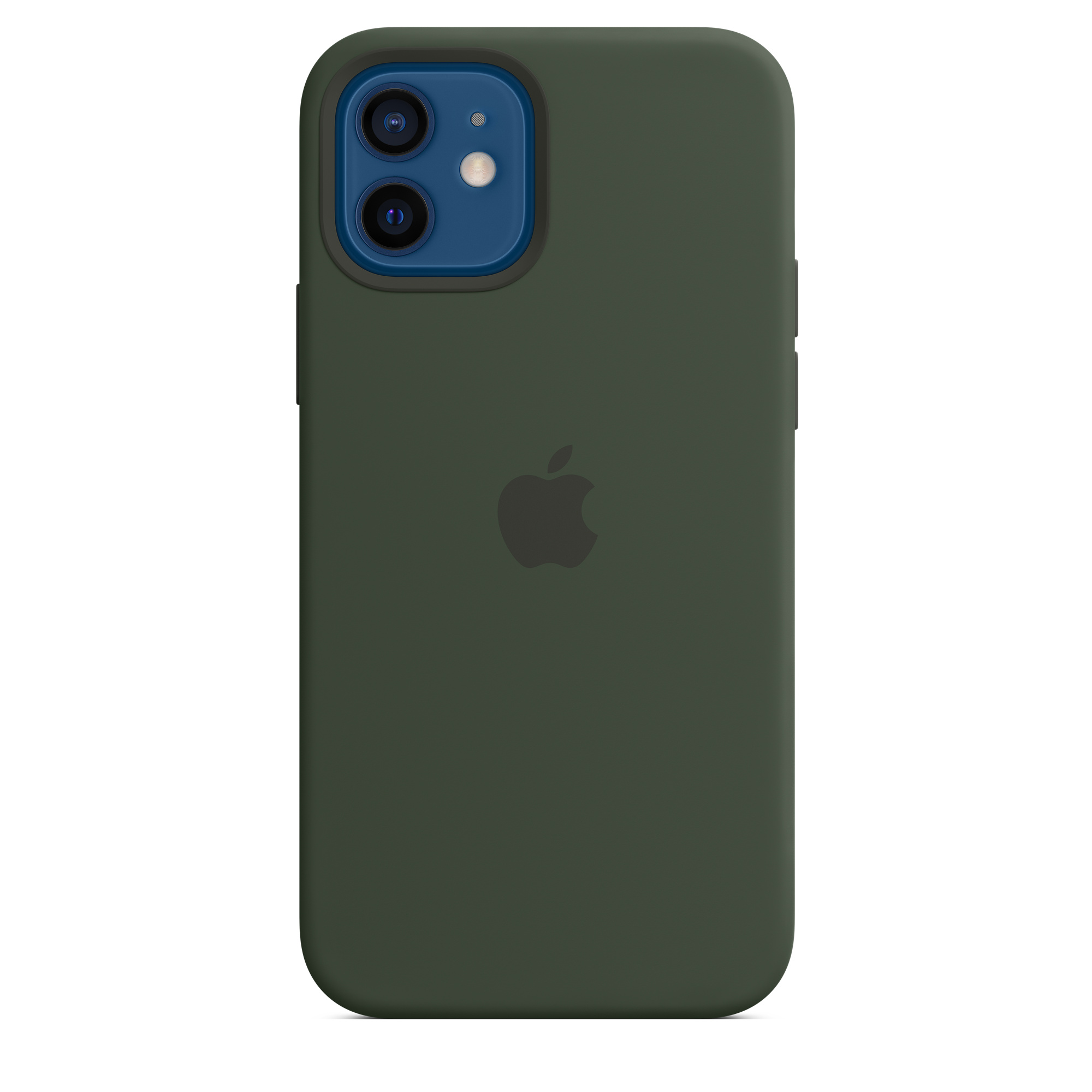 iPhone 12 | 12 Pro SilikonCase mit MagSafe- Zyperngrün