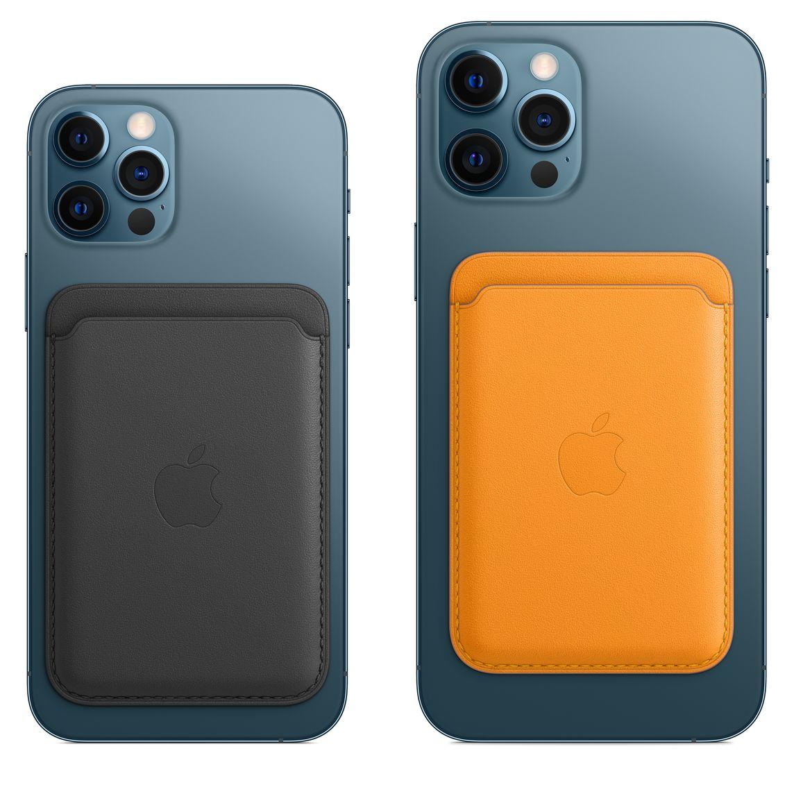 iPhone Leder Wallet mit MagSafe - Sattelbraun - Business - Apple (AT)