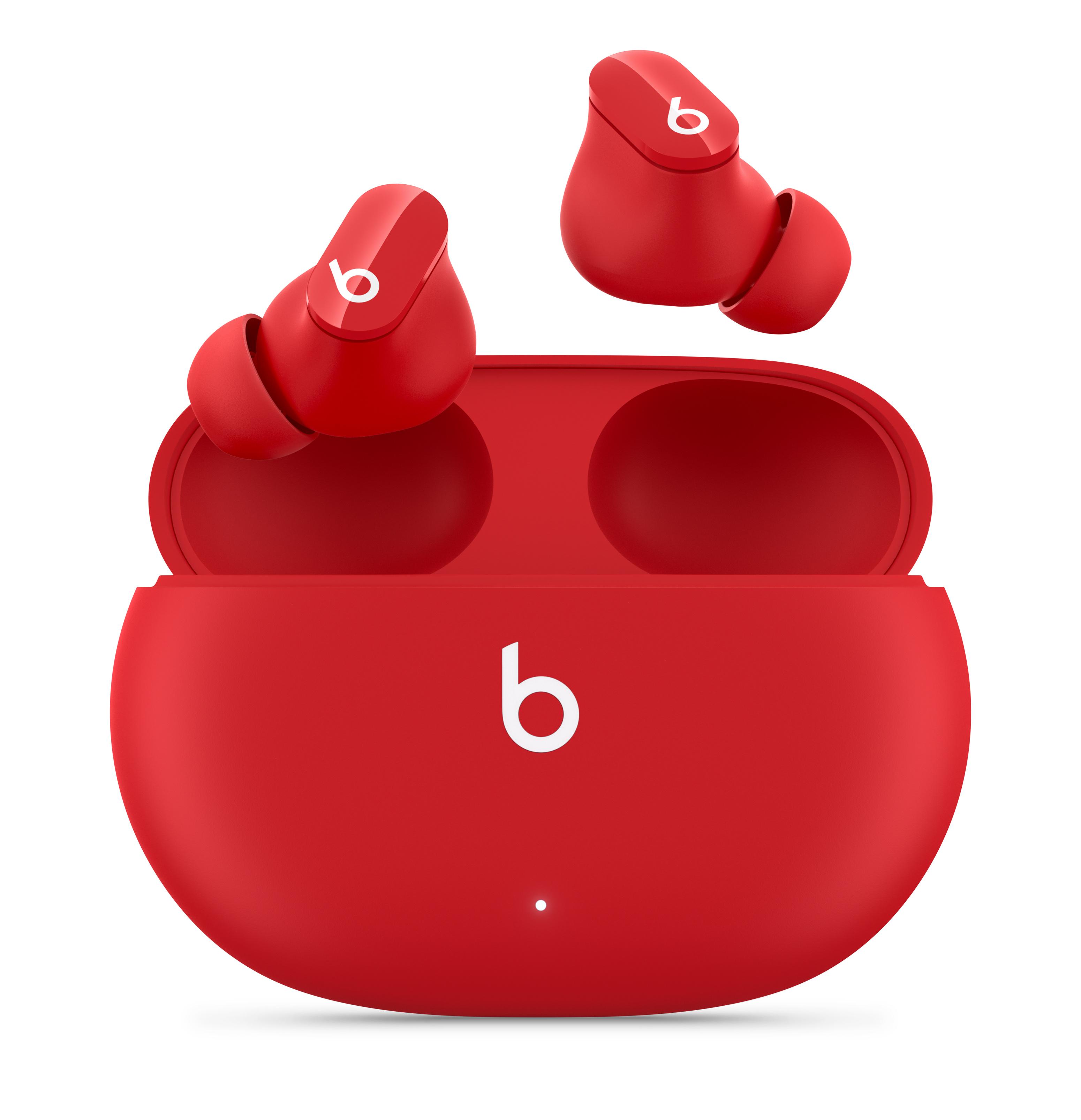 Beats Studio Buds – Écouteurs sans fil True Wireless avec réduction du  bruit – Rouge Beats - Apple (FR)