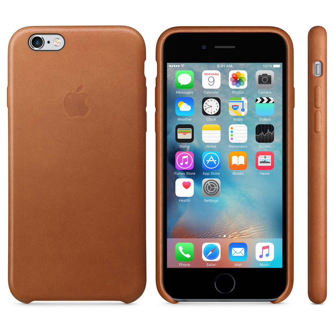 reputable site 063ac c1167 iPhone 6 / 6s Leather Case - Saddle Brown