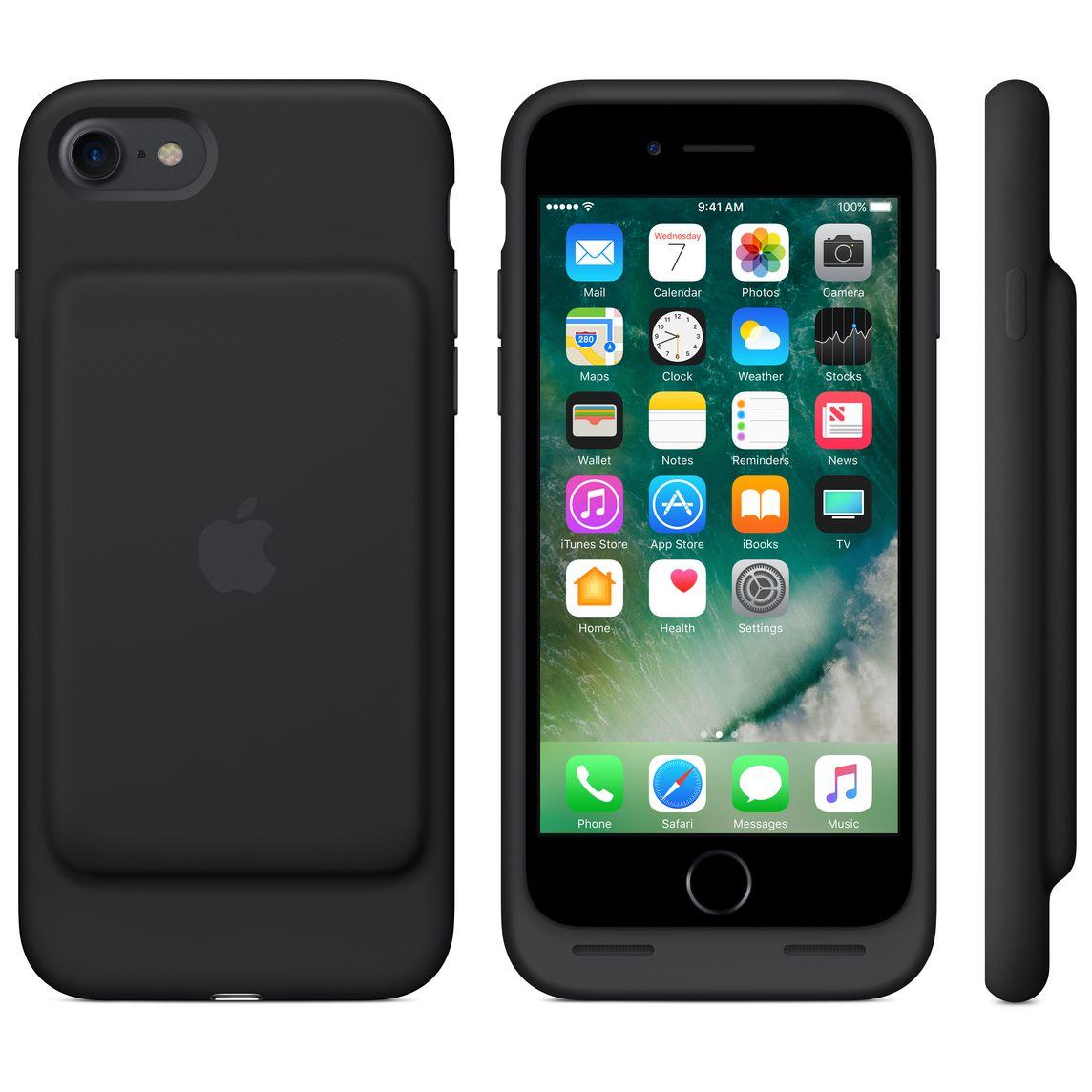 Smart Battery Case per iPhone 7 - Nero