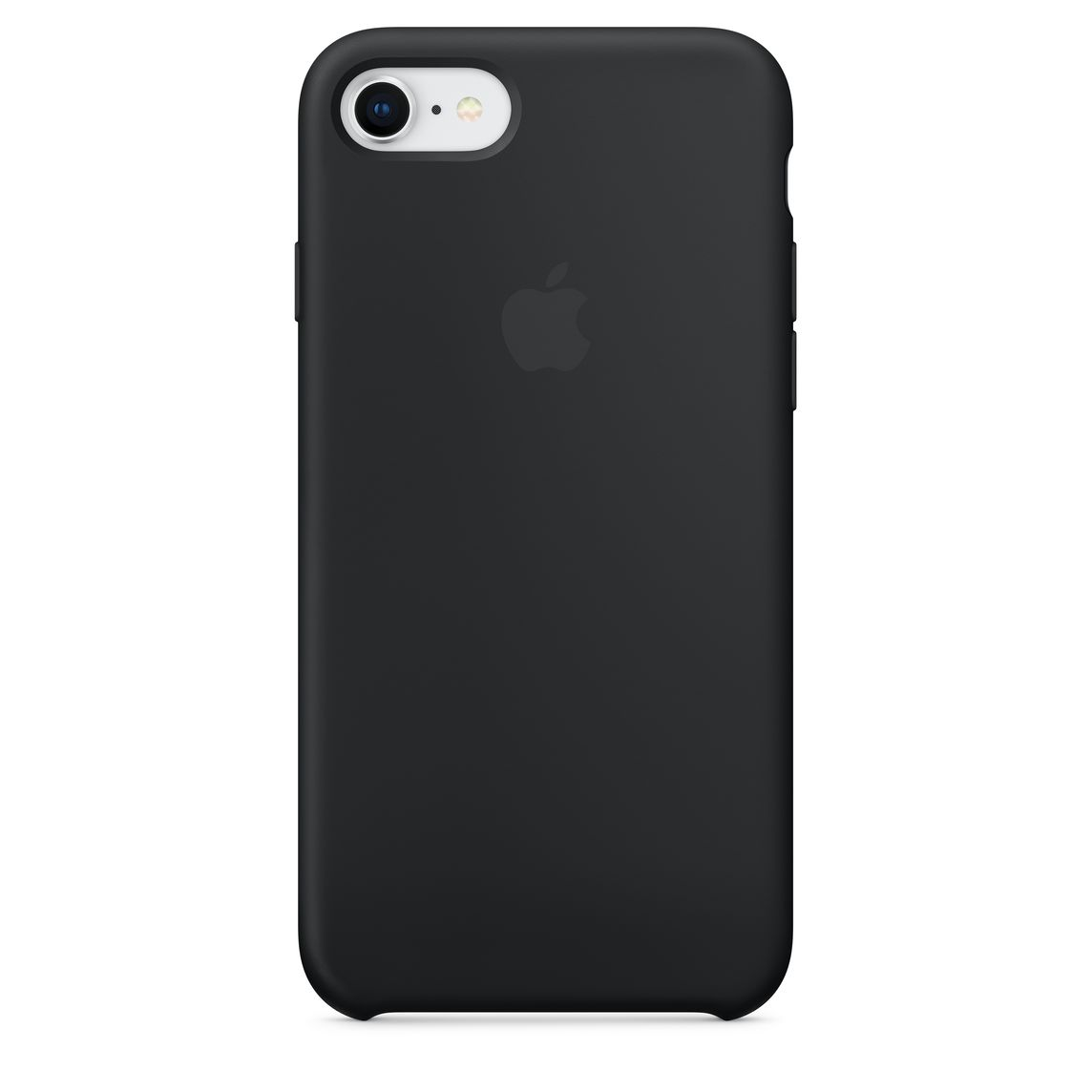 coque apple iphone 6 silicone noir