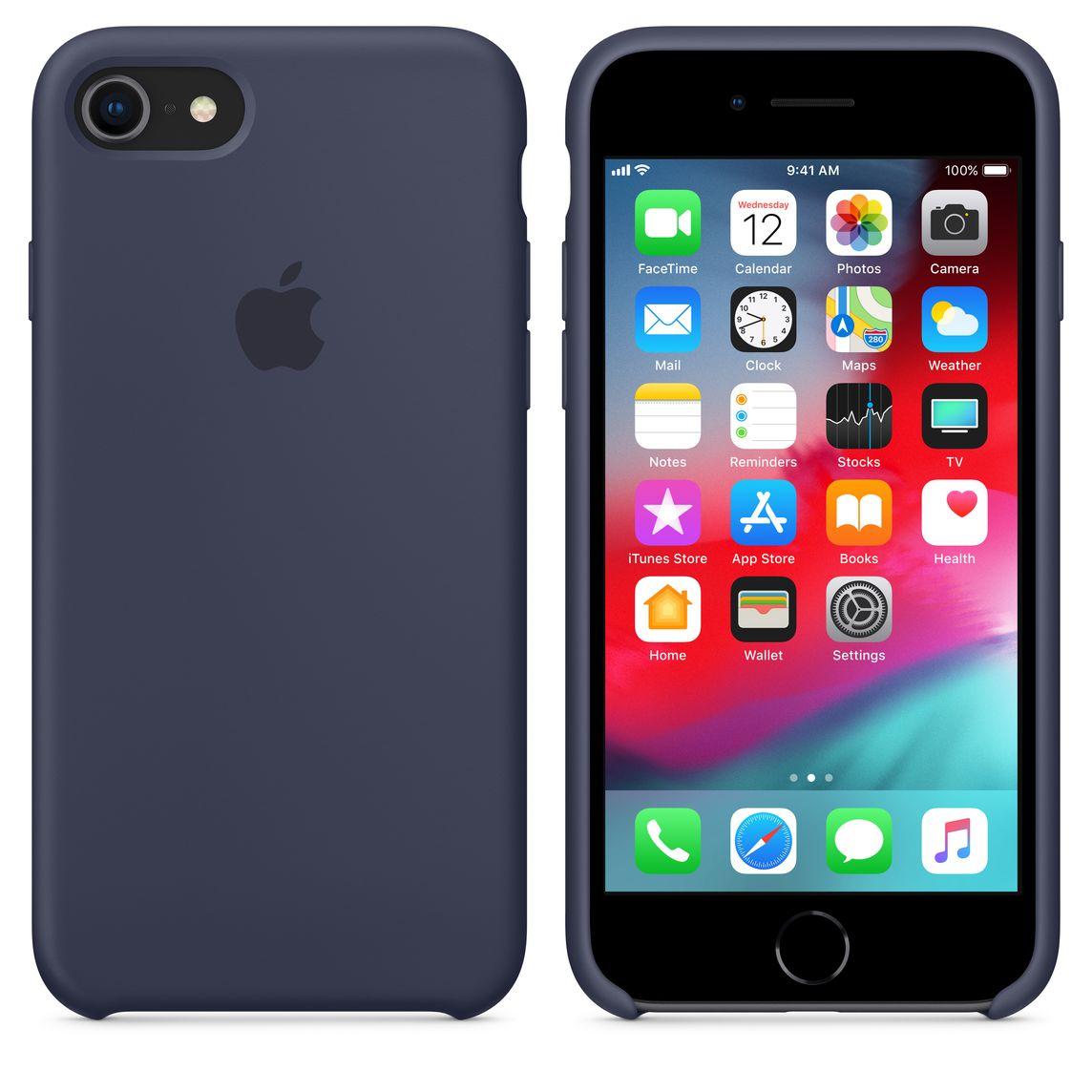 coque apple iphone 7 bleu