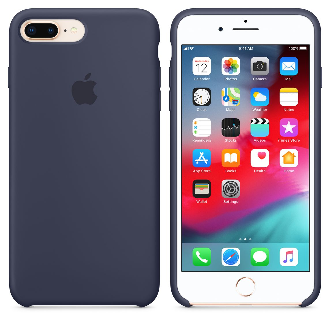 coque iphone 7 plus bleu nuit