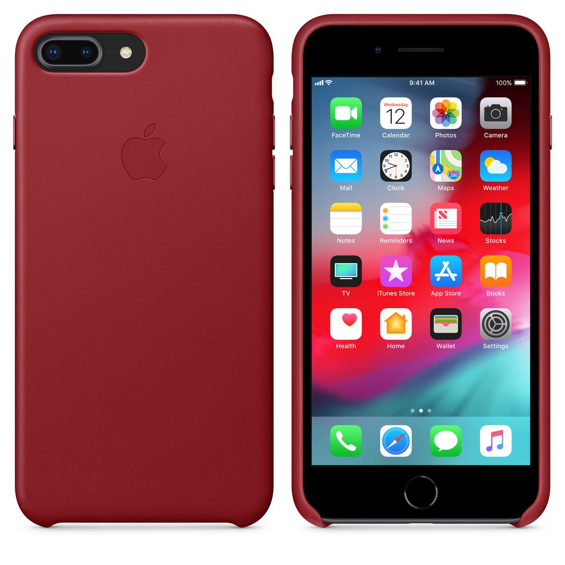 8 plus iphone cases red