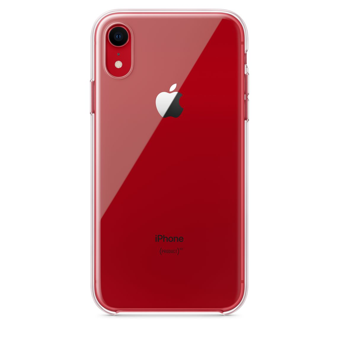 Apple iPhone XR 6.1 Custodia Cover Celly FEELING Red