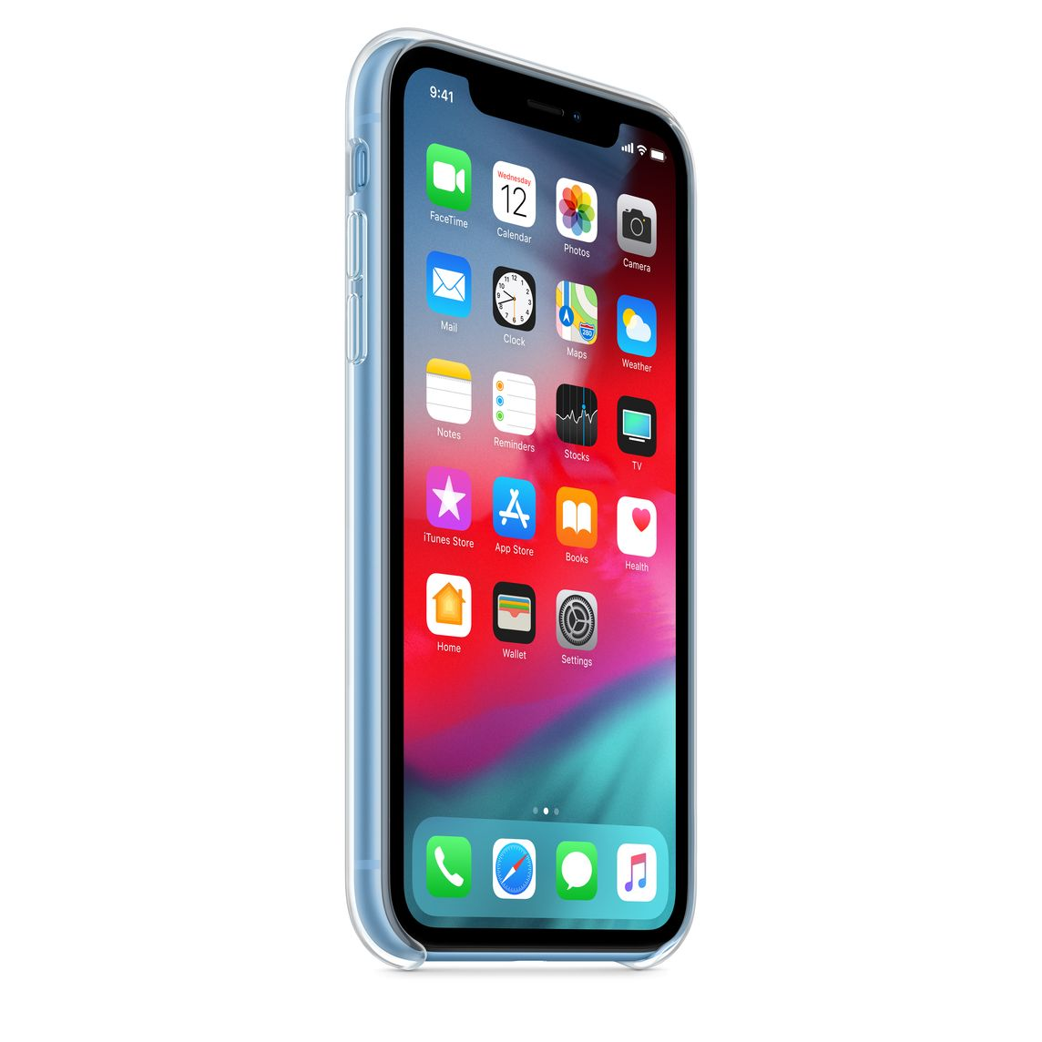 coque iphone xr transparente sans trace