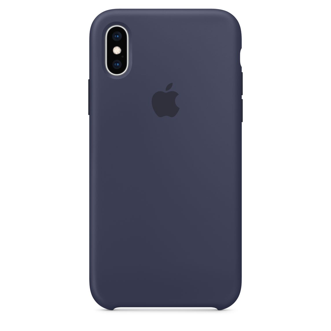 coque iphone xr bleu silicone