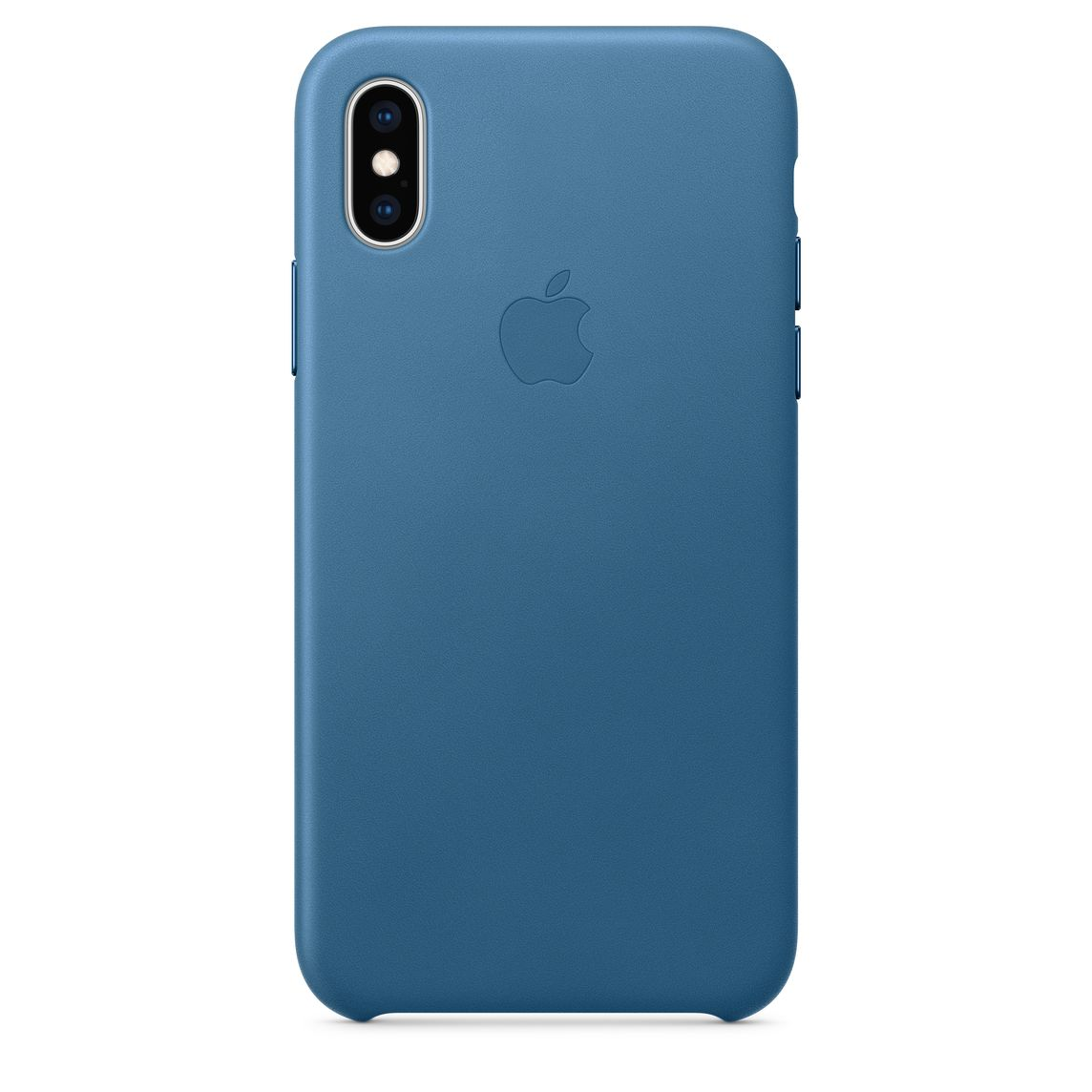 custodia in pelle iphone xs