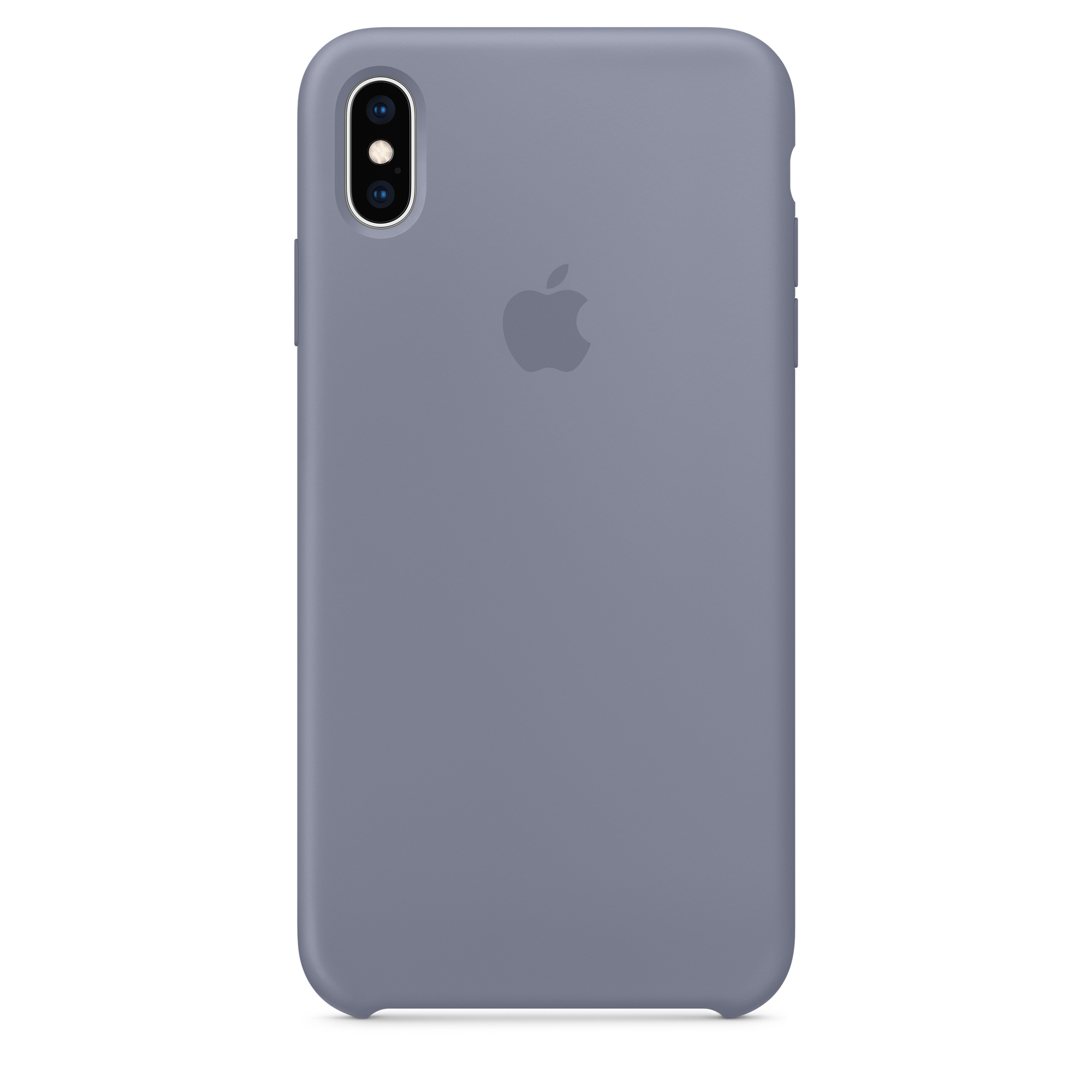 separation shoes f79a7 c14ee iPhone XS Max Silicone Case - Lavender Grey