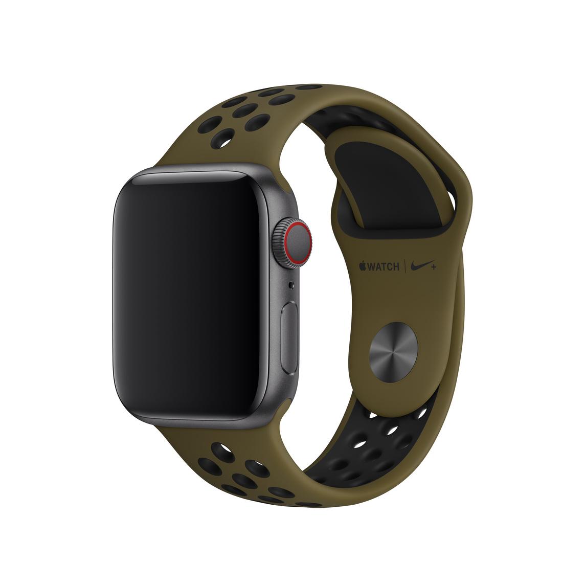 demolire realizzazione Rugiada  Cinturino Nike Sport verde militare/nero (40 mm) - S/M e M/L - Apple (IT)