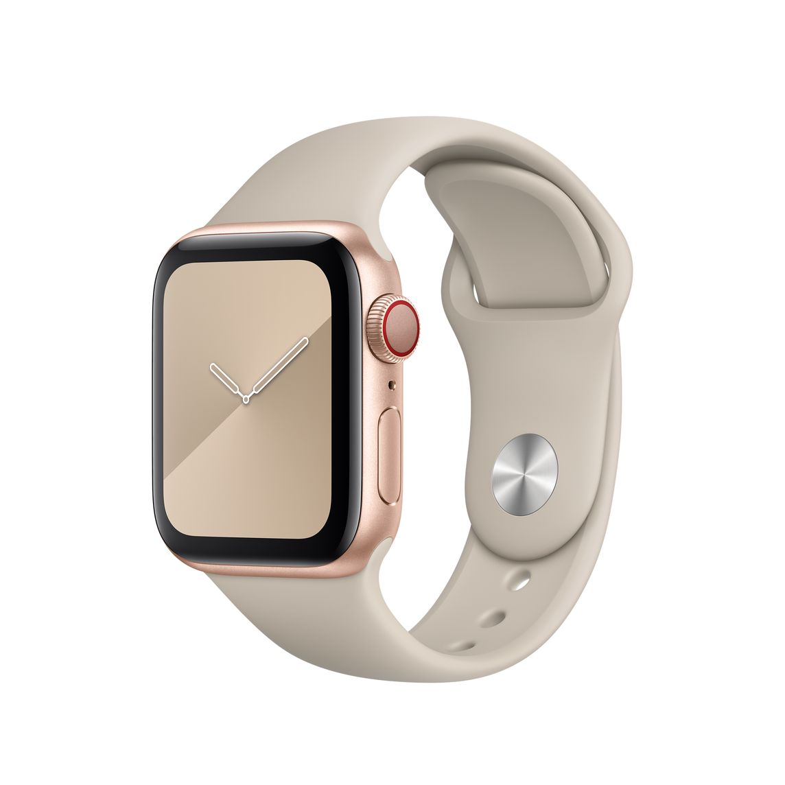 40mm Stone Sport Band – Regular Apple