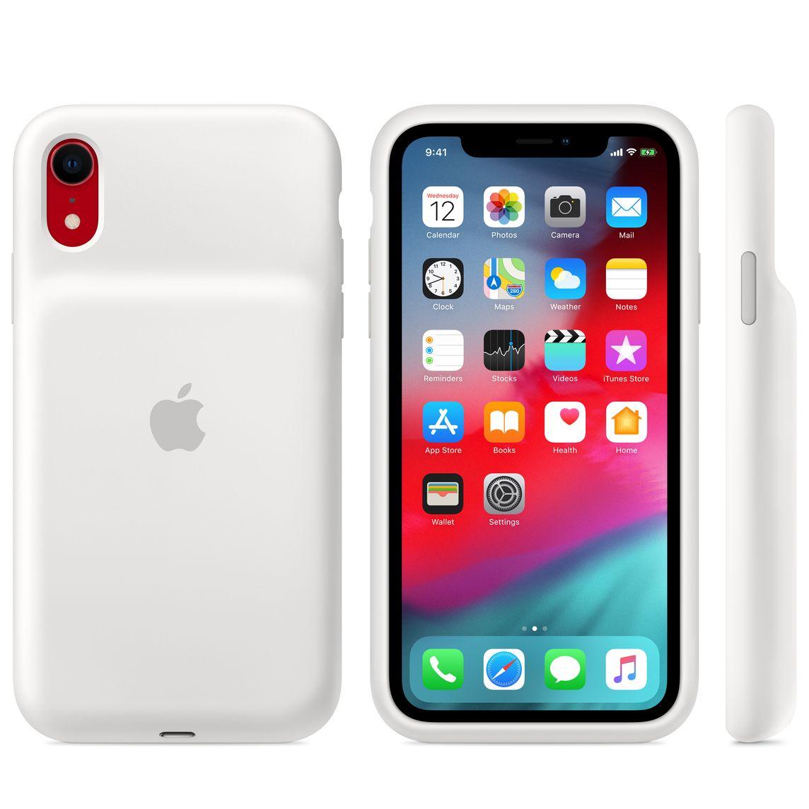 Smart Battery Case till iPhone XR ???vit