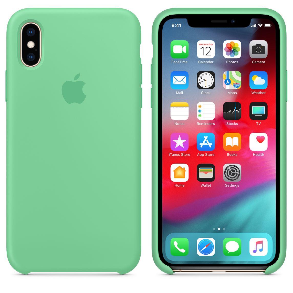 coque apple vert iphone 7