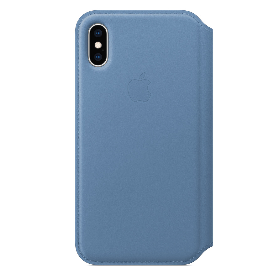 Custodia a portafoglio in pelle di Decoded per iPhone 11 - Marrone