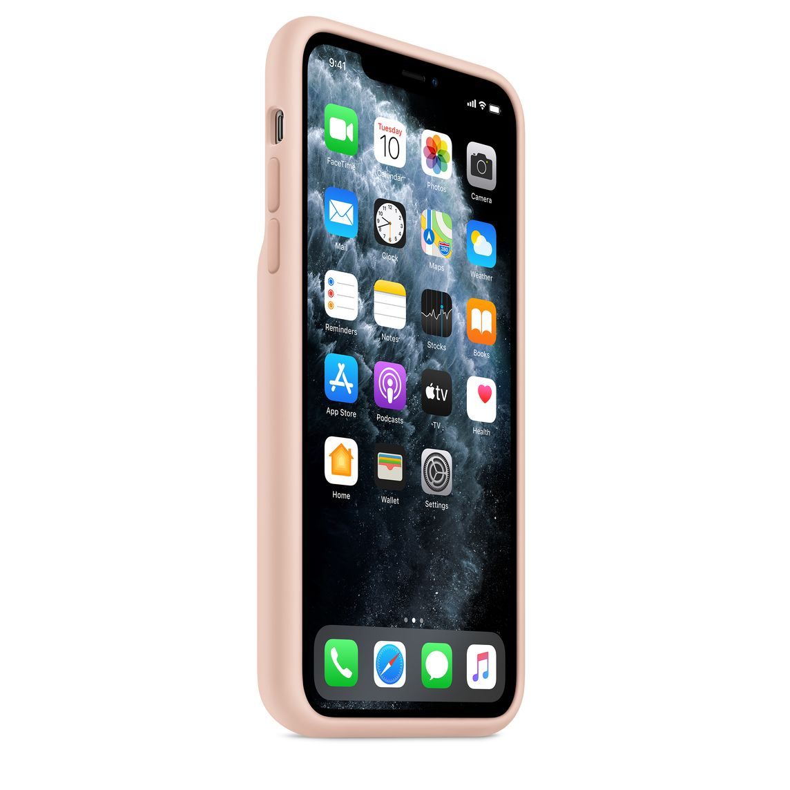 Smart Battery Case pour iPhone 11 Pro Max – Rose des sables