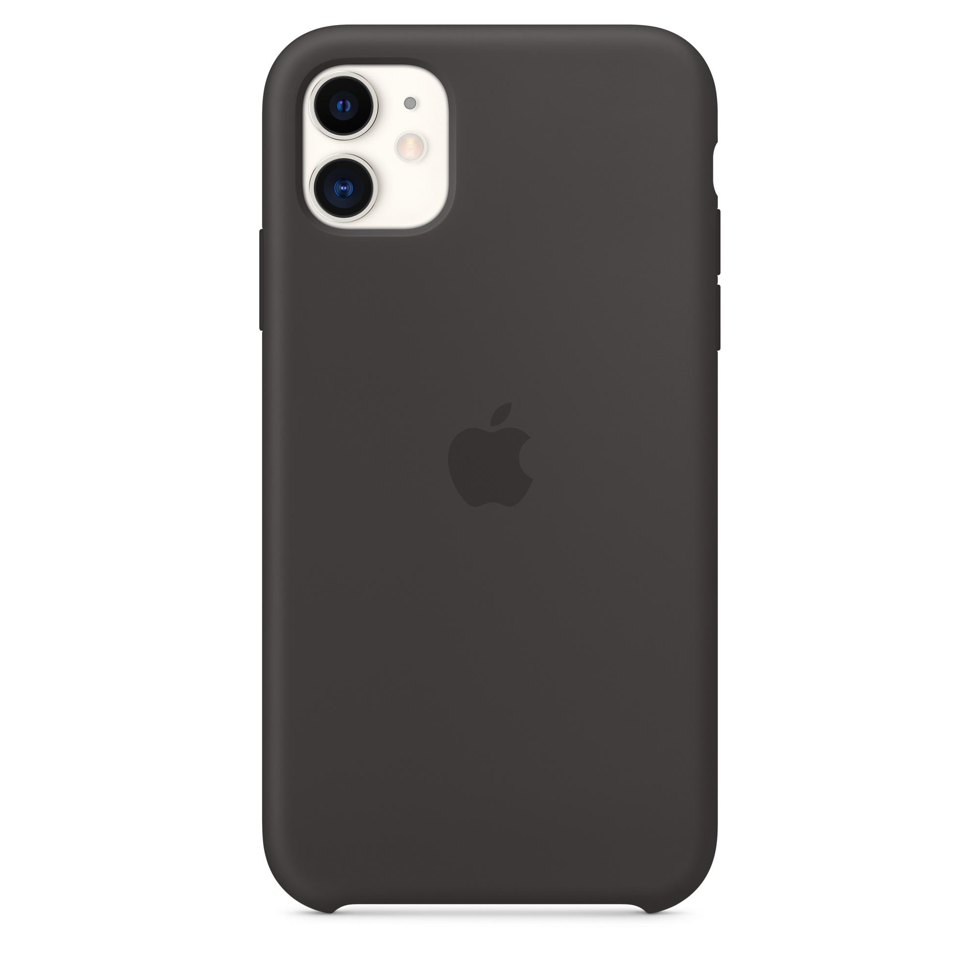 Capa Em Silicone Para Iphone 11 Preto Apple Pt