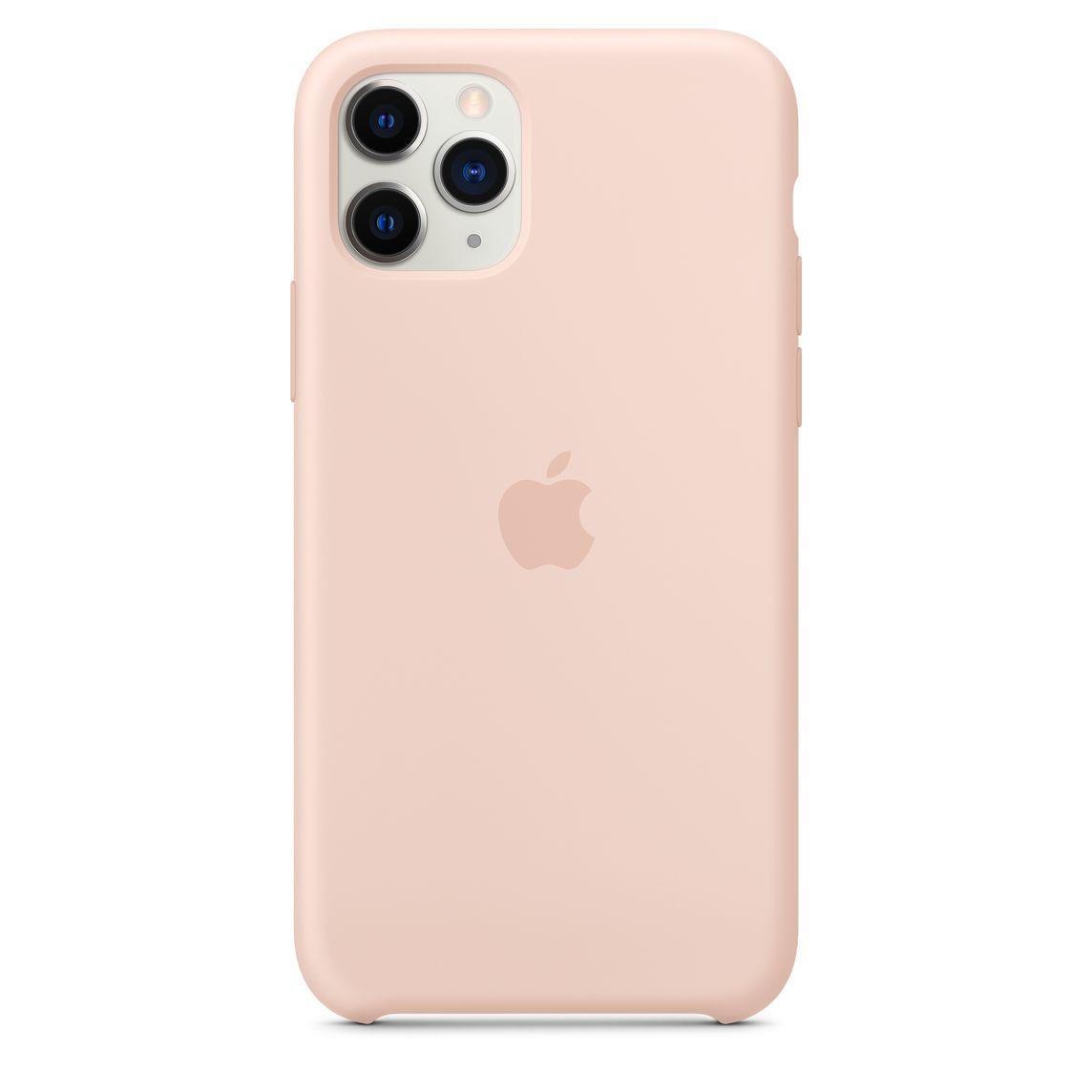 Custodia in silicone per iPhone 11 Pro - Rosa sabbia