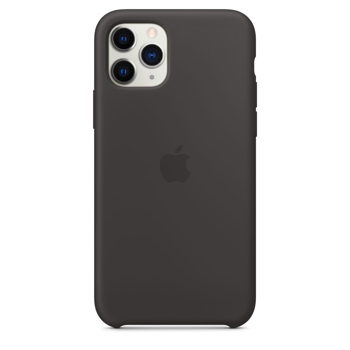 Custodia in silicone per iPhone 11 Pro - Nero
