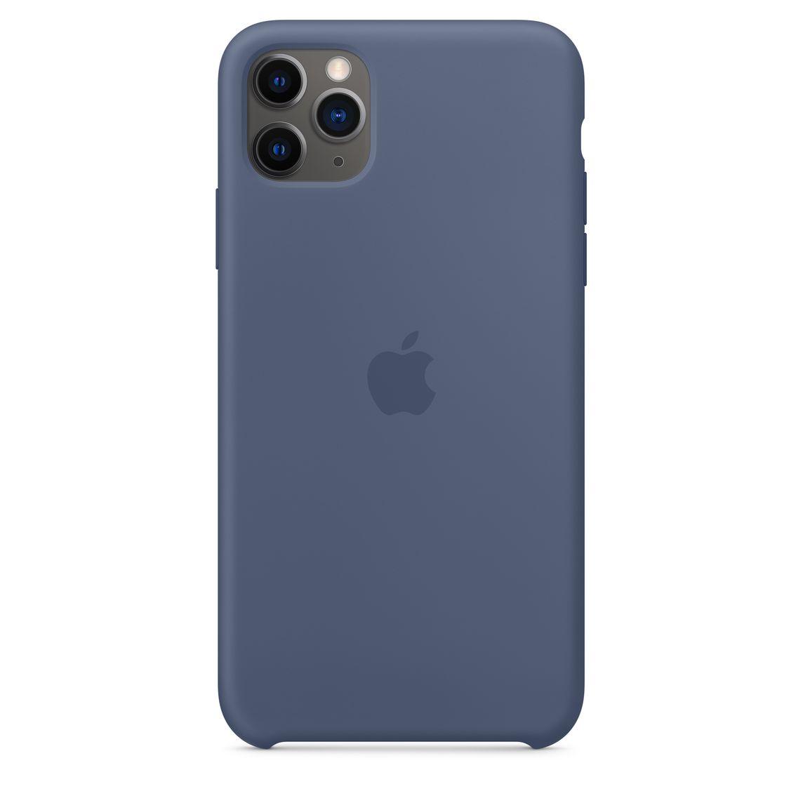 Custodia in silicone per iPhone 11 - Nero - Apple (IT)