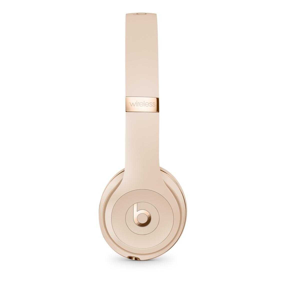 Beats Solo3 Wireless Headphones Satin Gold Apple Uk